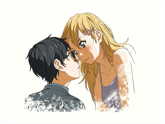 "Shigatsu wa Kimi no Uso - Your lie in April"" Art Prints by zRiSes ..."