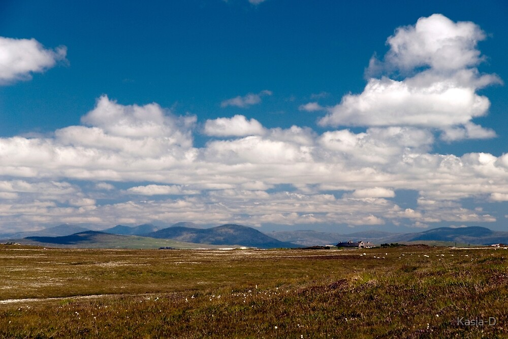 North Uist: Thon Distant Hills by Kasia-D