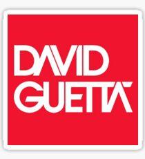 David Guetta logo  Sticker