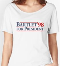 Bartlet for President Women's Relaxed Fit T-Shirt