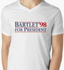 Bartlet for President Men's V-Neck T-Shirt