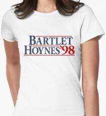 Bartlet for America Women's Fitted T-Shirt