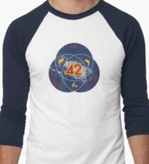 The Answer to Life, the Universe & Everything (Ultimate Venn Version) Men's Baseball ¾ T-Shirt