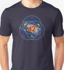 The Answer to Life, the Universe & Everything (Ultimate Venn Version) Unisex T-Shirt