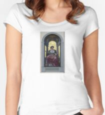 Painting  Women's Fitted Scoop T-Shirt
