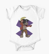 Foxy the Pirate Design  One Piece - Short Sleeve