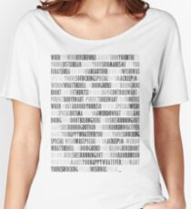 Radiohead - Creep Women's Relaxed Fit T-Shirt