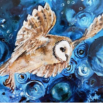 Owl - cosmic night by BellaBees