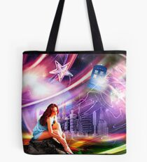 Wishing on a star... for someone from afar Tote Bag