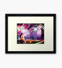 Wishing on a star... for someone from afar Framed Print
