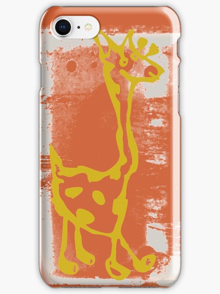 giraffe by fuxart