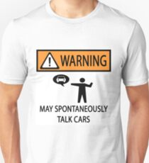 Spontaneously Talks About Cars T-Shirt