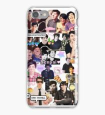 Dan and Phil Phan collage part 2 iPhone Case/Skin