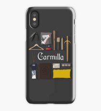 Carmilla Items iPhone Case/Skin