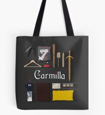Carmilla Items Tote Bag