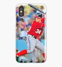 Bryce Harper Batting II iPhone Case/Skin