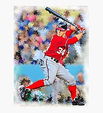 Bryce Harper Batting II Photographic Print