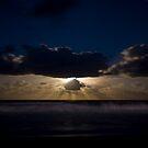 Moonrise over Werri Beach by Andrew Bosman