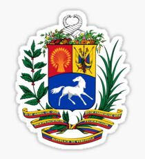Coat of Arms of Venezuela, 1954-2006 Sticker