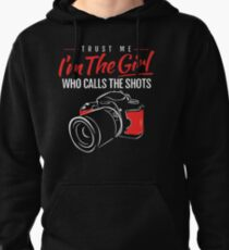 Photographer Girl Pullover Hoodie