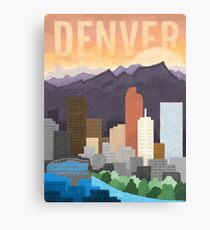 Mile High City Canvas Print