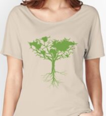 Earth Tree Women's Relaxed Fit T-Shirt