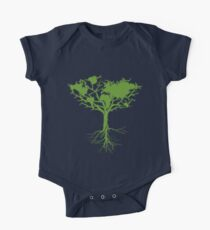Earth Tree One Piece - Short Sleeve