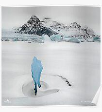 Iceberg Lagoon Poster