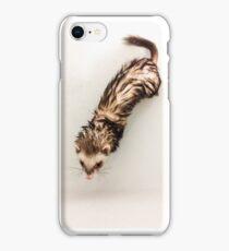 Bath Ferret iPhone Case/Skin