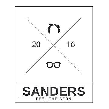 Bernie Sanders Minimal by bluzink