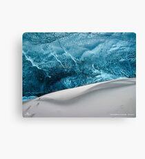 Snow Wave Canvas Print
