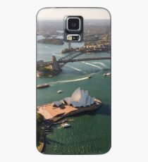 Sydney Harbour from the Sky Case/Skin for Samsung Galaxy