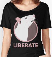 Camiseta ancha para mujer Liberar (Rata)