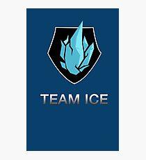 Team Ice Photographic Print