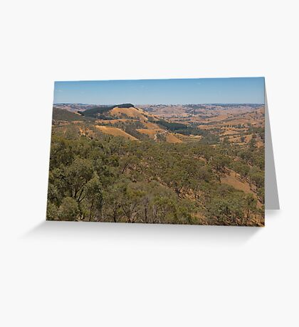 Murchison's Gap, Victoria, Australia Greeting Card