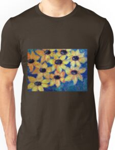 Sunflowers are smiling Unisex T-Shirt
