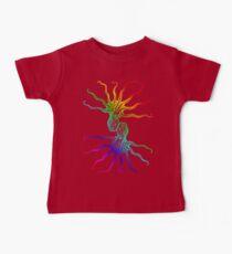 Rainbow Octopus Baby Tee