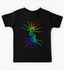 Rainbow Octopus Kids Tee