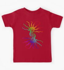 Rainbow Octopus Kids Tee