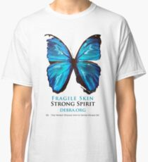 Beautiful Blue Butterfly Proceeds donated to DebRa.org Classic T-Shirt