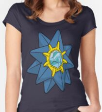 Shiny Starmie Women's Fitted Scoop T-Shirt
