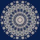 Blue Pattern Kaleidoscope by fantasytripp