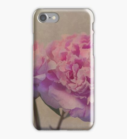 Peonies from Karen's Garden iPhone Case/Skin
