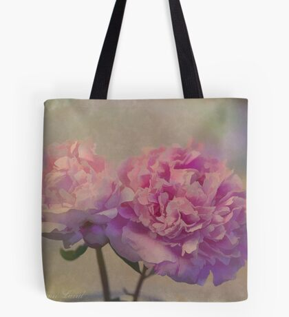Peonies from Karen's Garden Tote Bag