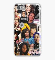 Kerry Washington - Collage  iPhone Case/Skin