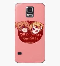Red Velvet Pancakes Case/Skin for Samsung Galaxy