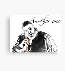 Just another one.. Dj Khaled Canvas Print