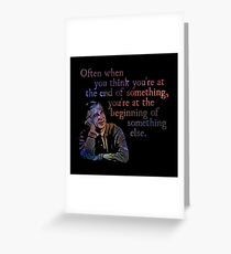 The End of Something - Fred Rogers Greeting Card