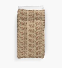 Cookie Lover Delicious Chocolate Chip Yummy Burlap Duvet Cover