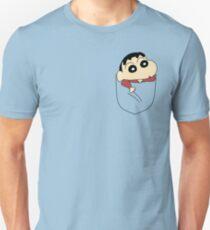 Pocket Shin Chan Unisex T-Shirt